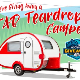 The Big Giveaway! A Chance To Win Your Own 2019 nuCamp TAB Teardrop Camper!