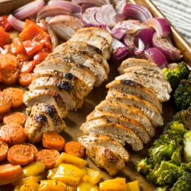 Sheet Pan Chicken And Vegetables Recipe – A Healthy One Pan Meal