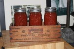 3 jars of our canned picante salsa