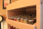 Build this Canning Pantry Cabinet From Pallets