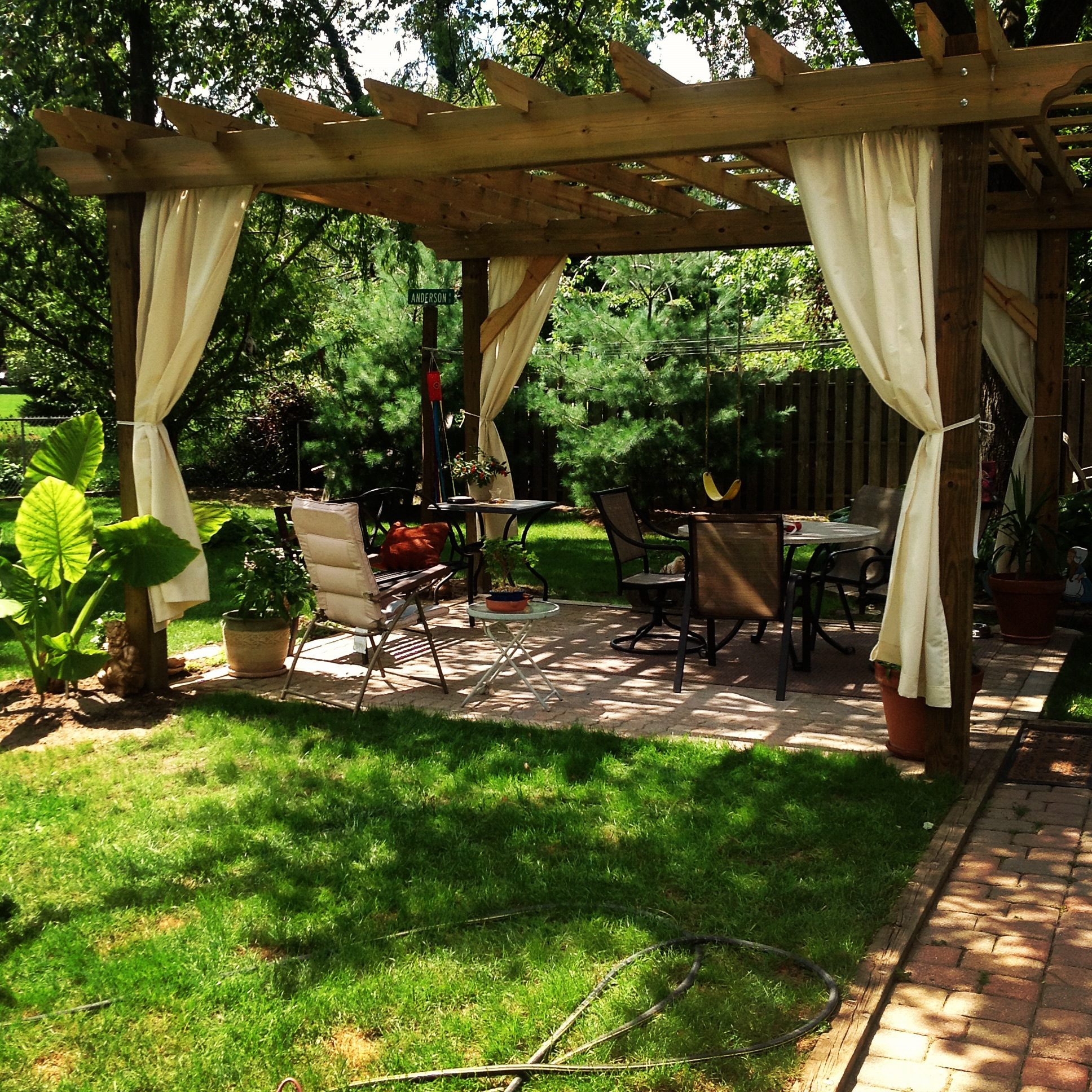 Tips To Building Your Own Beautiful Pergola! - Old World ... on Covered Pergola Ideas  id=64183