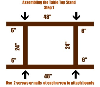 Seed Starting Stand - Step 1
