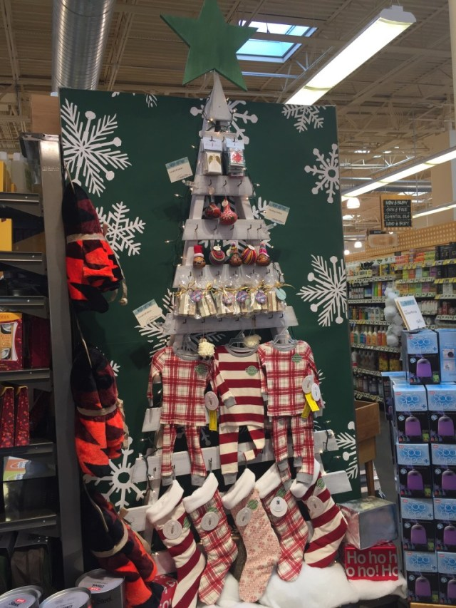 Children's Christmas clothes and stockings from Whole Foods Market via Old World New