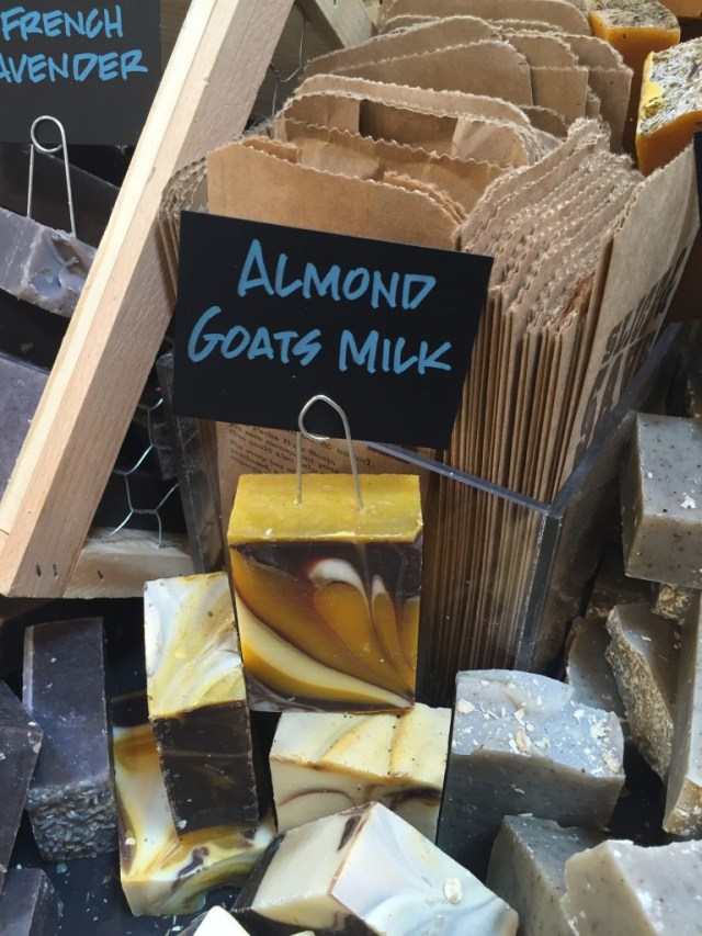 Almond Goats Milk soap by Soap Girl of Dallas TX at Whole Foods Market via Old World New