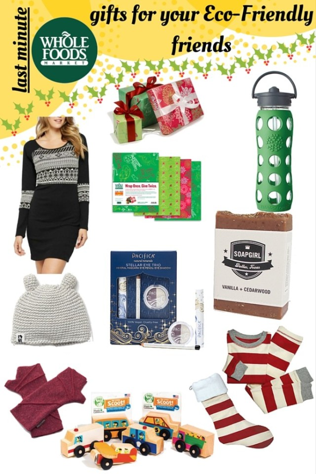 Last Minute Whole Foods Gift Guide for your Eco-Friendly friends via Old World New