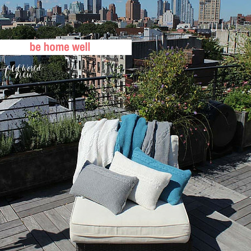 be home well honeycomb throws and blankets - ethical & sustainable shop guide - via Old World New