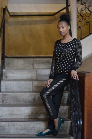 polka dot sweater: Thrift Giant - dew thrift stores
