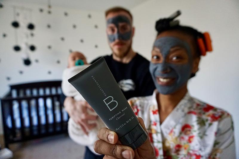 beauty counter charcoal mask green beauty
