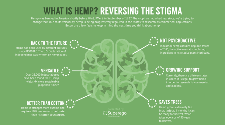 facts about hemp sustainability eco-friendly fabric clothes
