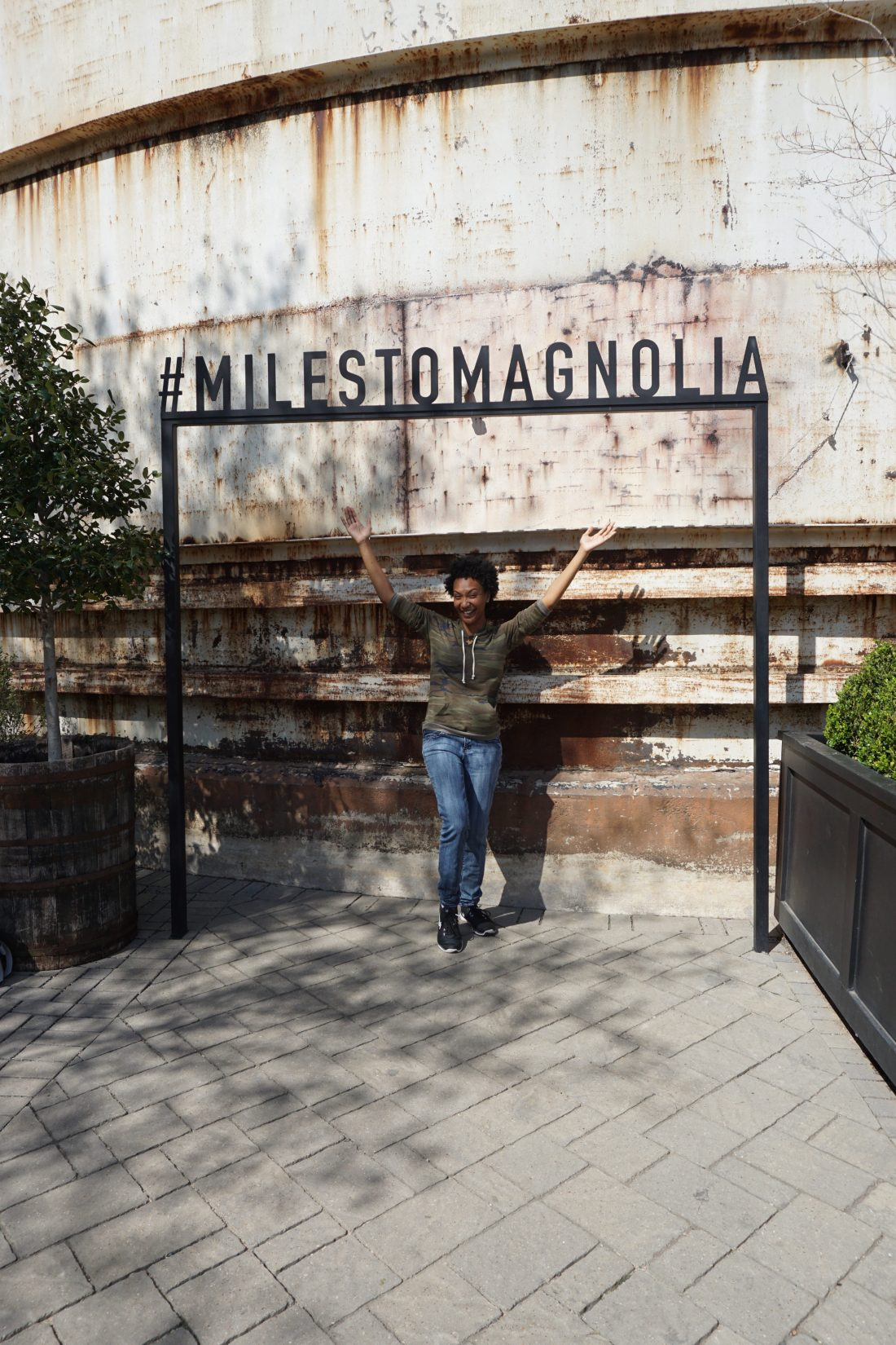 Magnolia Market Silos - Chip & Joanna Gaines - Waco, TX - Addie, Old World New