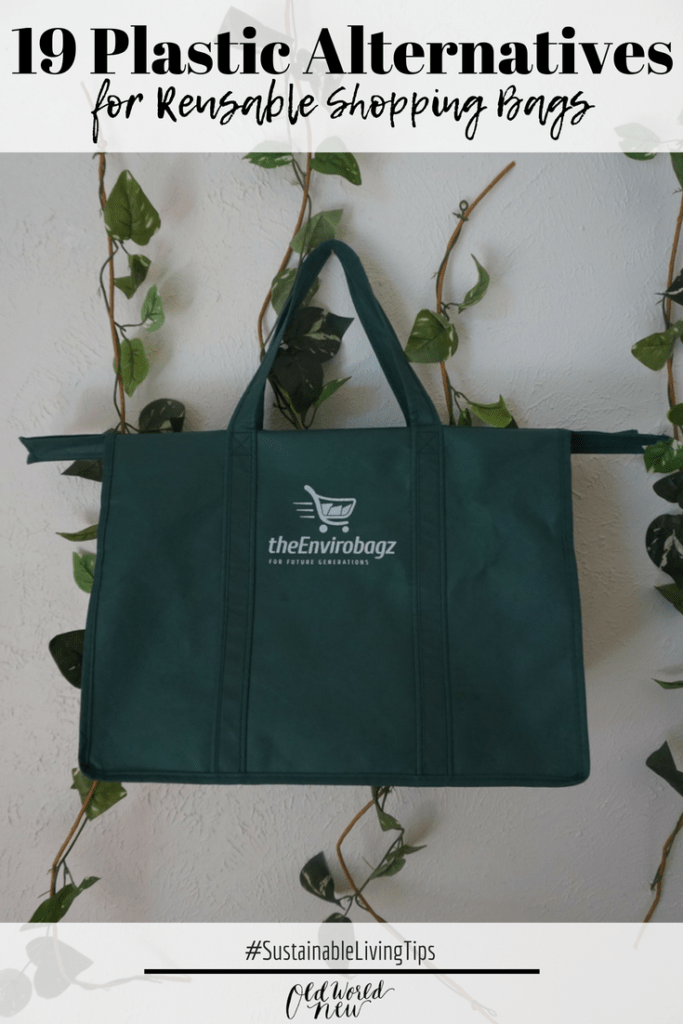 Plastic alternatives - a list of reusable shopping bags via Old World New