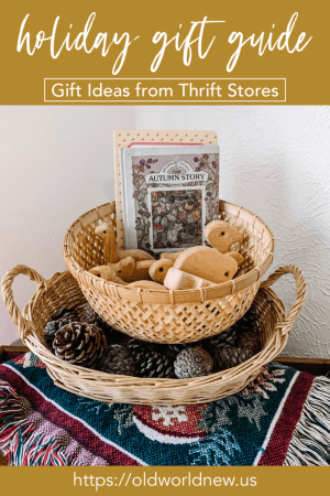 Eco-Friendly Gift Guide - Thrift Store Finds