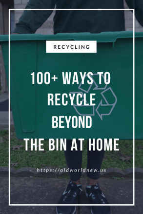 100 ways to recycle beyond the bin at home