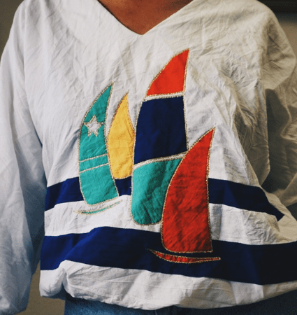 Thrift Haul – 7 Vintage Tops with Modern Style