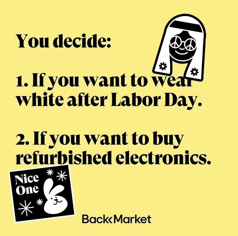 Shop Back Market for Refurbished Electronics