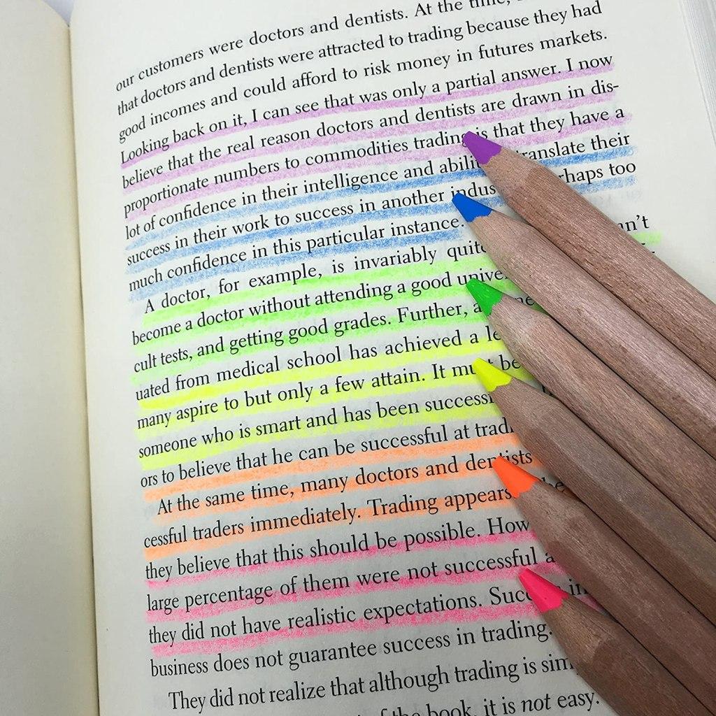 eco highlighter pencils