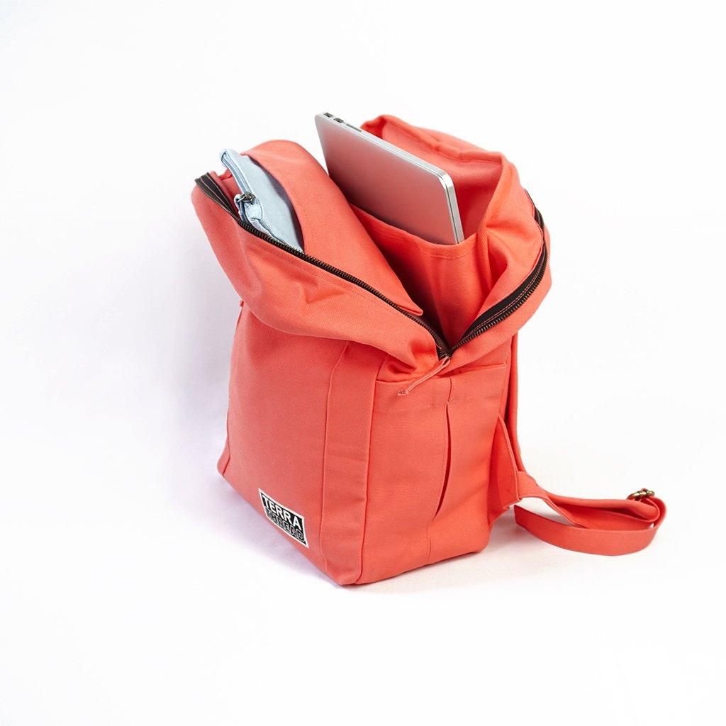 terra thread organic backpack