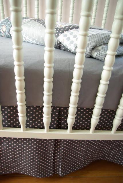 Crib Sheet Pattern Oleander Palm