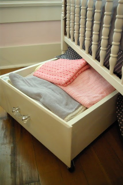 Under Bed Or Crib Storage Oleander Palm