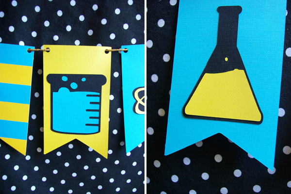 A Science Party Bunting and a Cricut Giveaway - Oleander + Palm