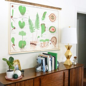 DIY Chart and Poster Frame
