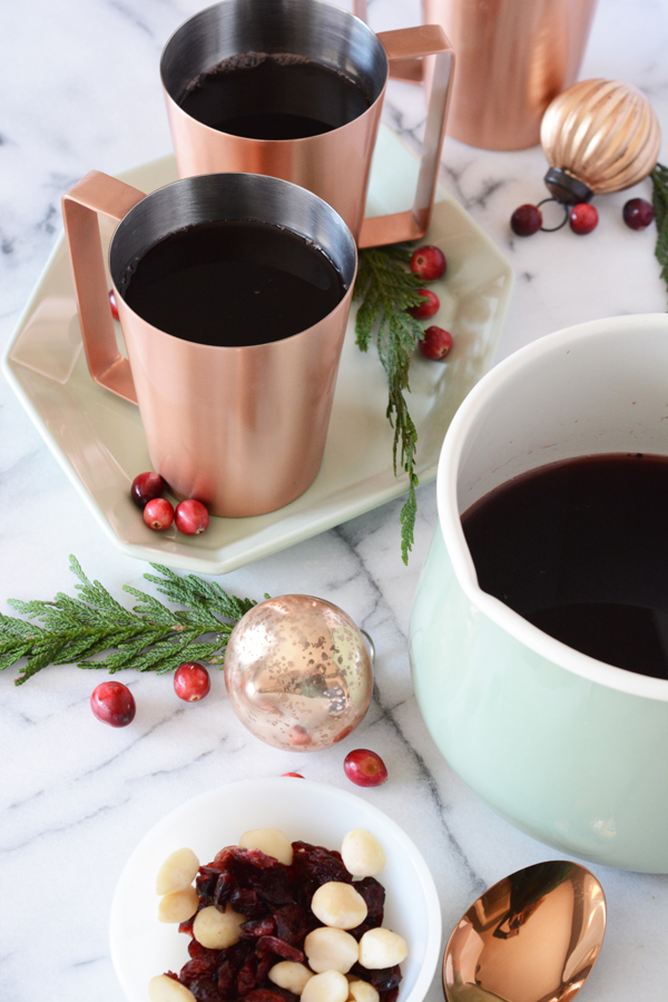 Family Friendly Swedish Glogg - Oleander + Palm