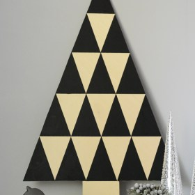 DIY Triangle Tree