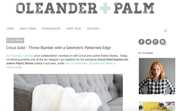 blog reveal