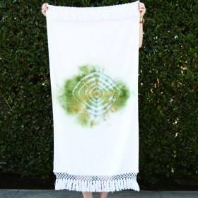 DIY Bohemian Beach Towels