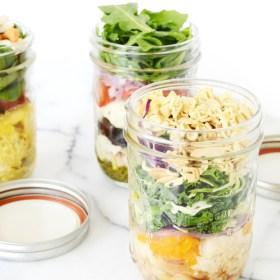 Salad in a Jar – 3 Ways