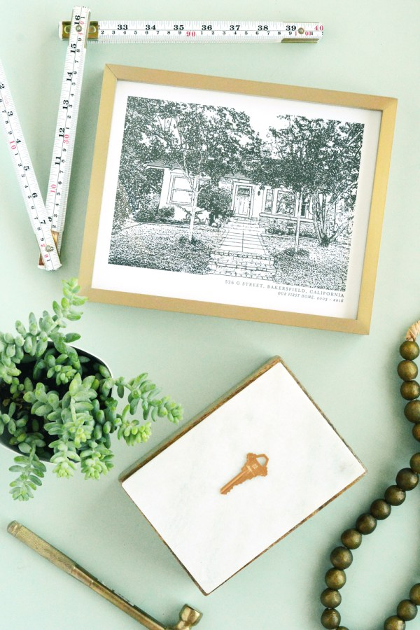 DIY Keepsakes from your home to take with you when you move.