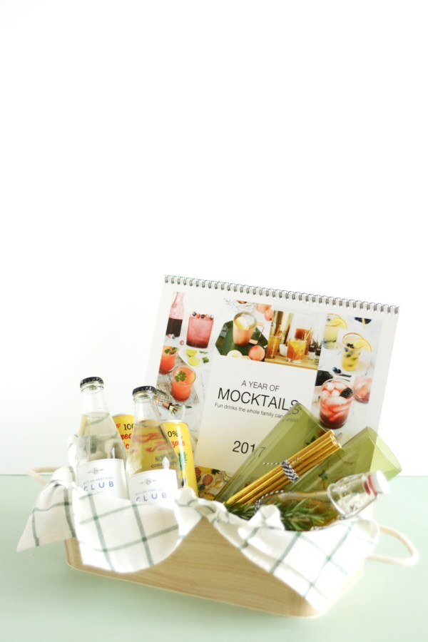 Mocktail Calendar and Gift Basket