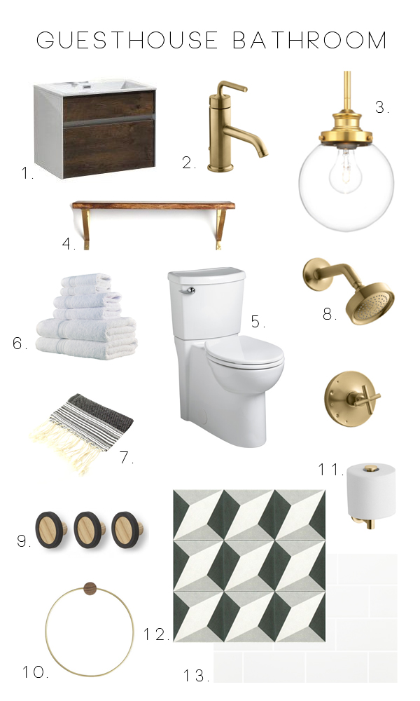Guesthouse Bathroom Plan