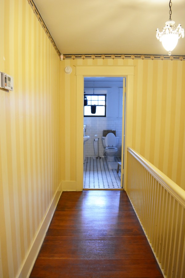 Hallway Makeover Before