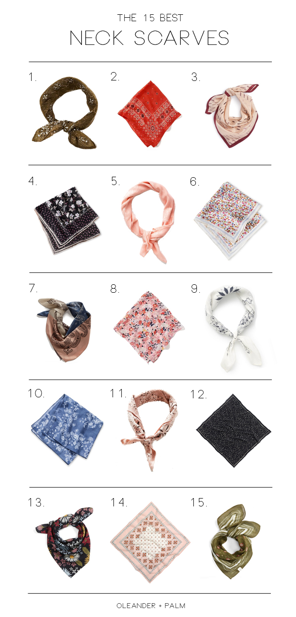The 15 BEST Neck Scarves for Any Outfit