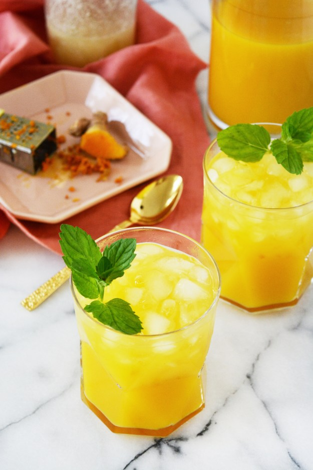 Orange Mango Turmeric Tea