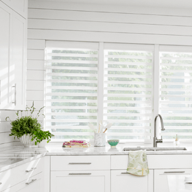 Non-Curtain Window Treatments