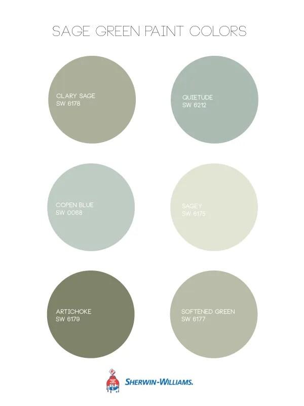 Sage Green Paint Colors