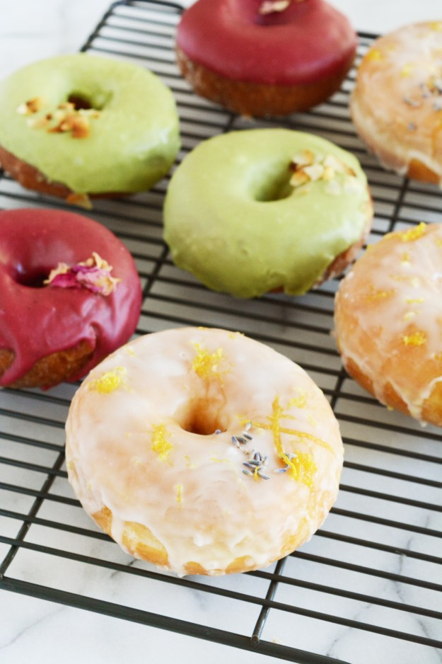 Faux Gourmet Donuts - give grocery store donuts a makeover with 3 yummy flavor combinations.