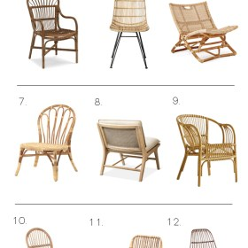 15 Gorgeous Rattan Chairs All Under $300