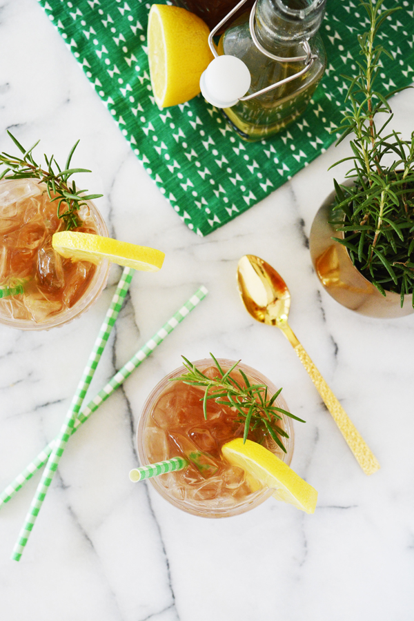 Rosemary Arnold Palmer Mocktail