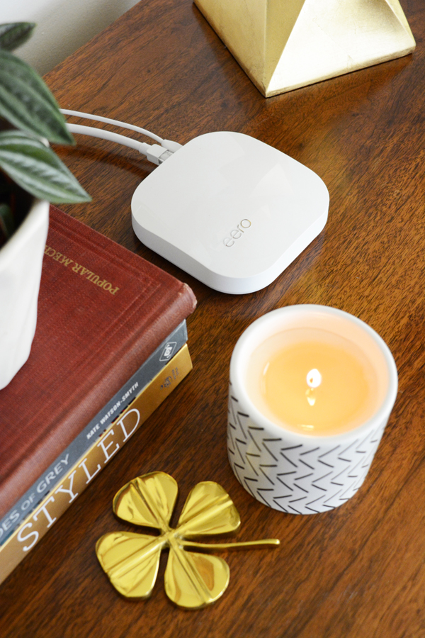 No more dead spots, slow spots, drop-offs or buffering with the eero Home WiFi System.