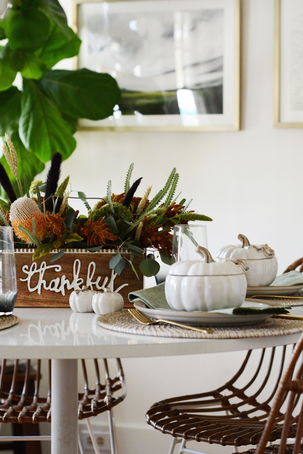 Harvest / Fall Table Setting