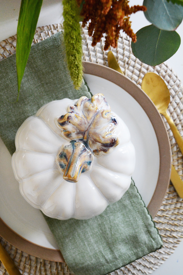 White Pumpkin Tureen