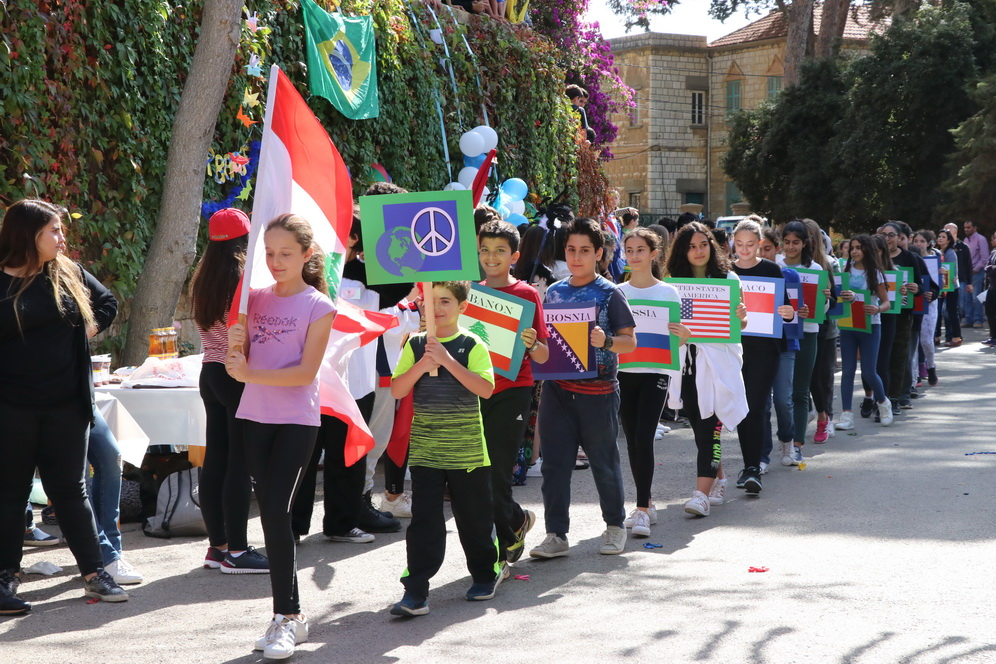peace parade in lebanon
