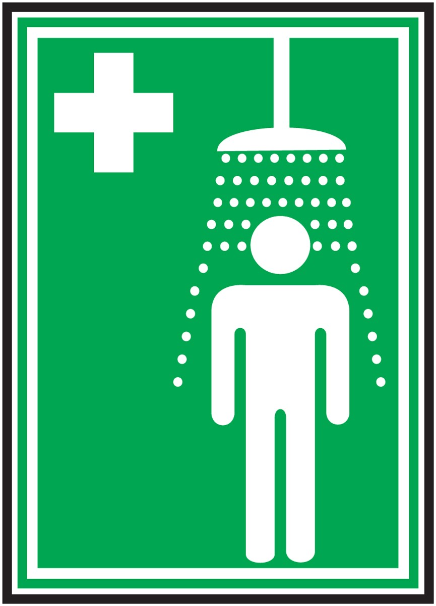 portable safety shower