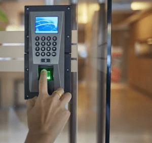 Figure 2: Biometric Access Control System