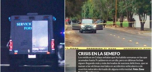 Con tanto muerto forenses de Guanajuato piden pago por tiempo extra