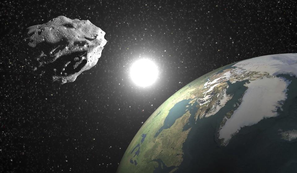 Esta tarde un asteroide pasará cerca de la Tierra