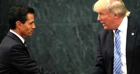 Peña y Trump pactan avanzar en seguridad, comercio y migración